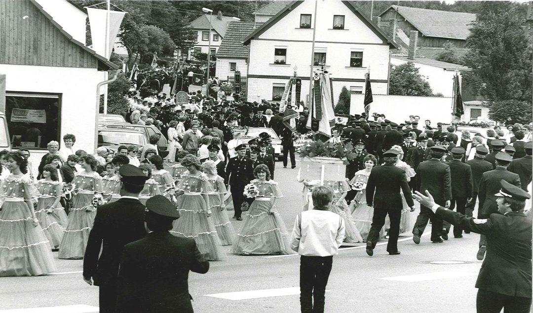 Kreisfeuerwehrtag 1985
